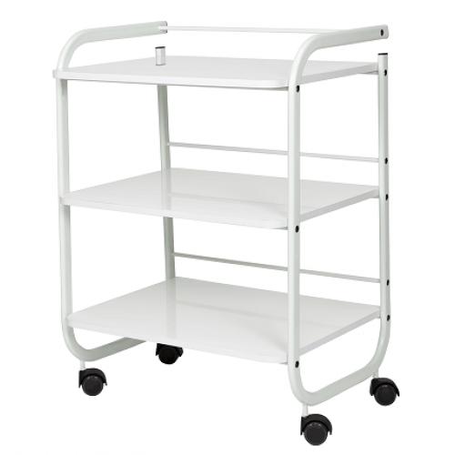 Carrito de 3 estantes con ruedas blanco - Carrito con ruedas ikea ...